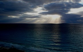 море, солнце, свет