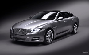 Jaguar, XJ, auto, Machines, Cars