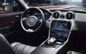 Jaguar, XJ, auto, Machines, Cars