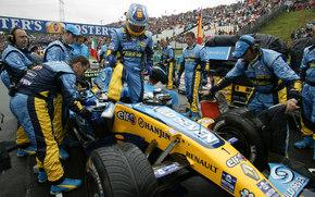 Renault, F1, auto, Machines, Cars
