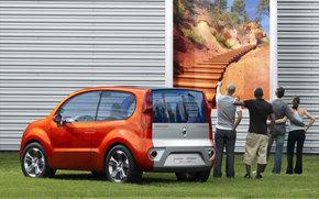 Renault, Kangoo, auto, Machines, Cars