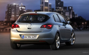 Opel, Astra, Coche, Maquinaria, coches
