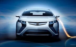 Opel, Ampera, авто, машины, автомобили