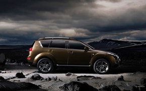 Peugeot, 4007, auto, Machines, Cars