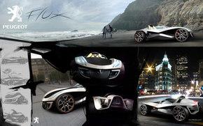 Peugeot, Flujo, Coche, Maquinaria, coches
