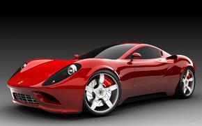 Ferrari, Dino, Coche, Maquinaria, coches