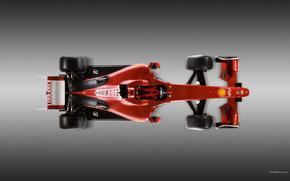 Ferrari, F1, Voiture, Machinerie, voitures
