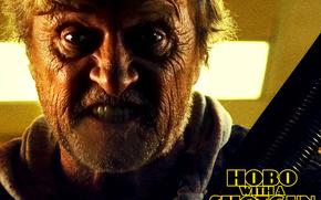 Bezdomny mczyzna z dubeltwk, Hobo with a Shotgun, film, film