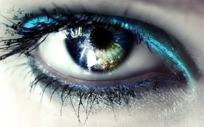 Auge, maniyazh, Reflexion