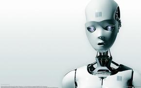 白, ロボット, バーコード