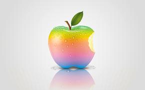 リンゴ, 虹