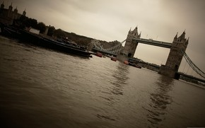 city, United Kingdom, Tower Bridge, river, Thames, photo, picture, wallpaper